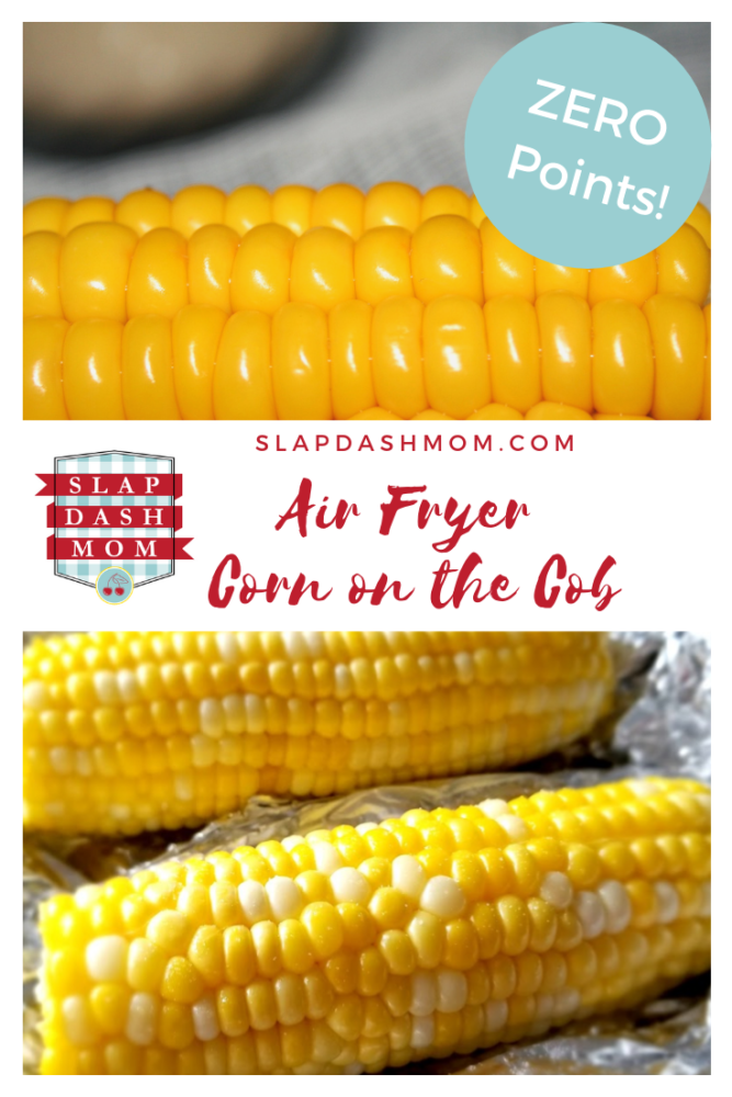 Air Fryer Corn on the Cobb - ZERO Points