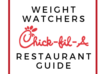 Weight Watchers Chic Fil A Restaurant Guide