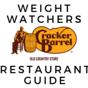 Cracker Barrel Weight Watchers points guide