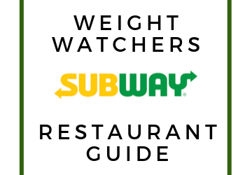 Subway Weight Watchers Point Guide