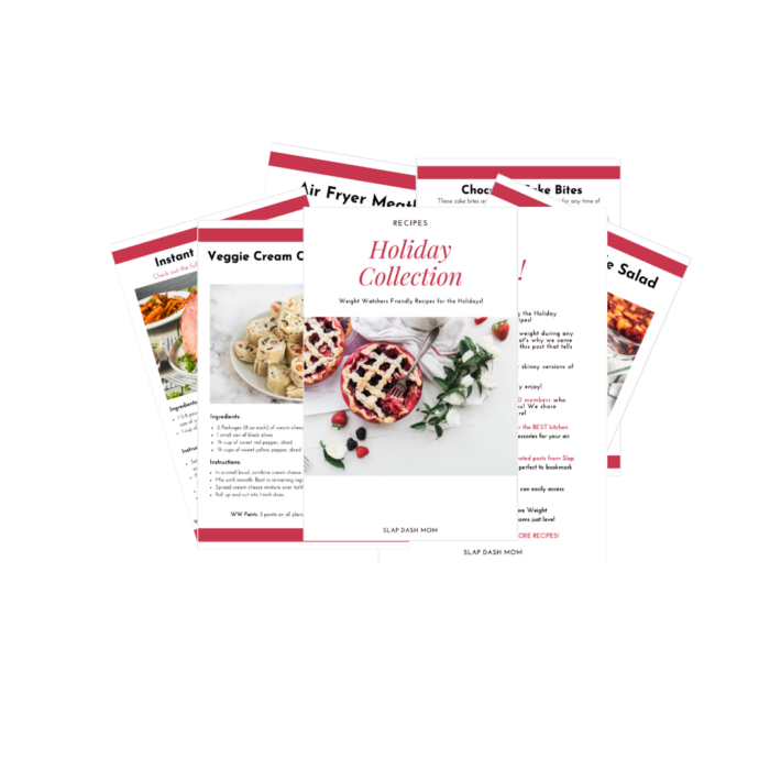weight watchers holiday cookbook preview
