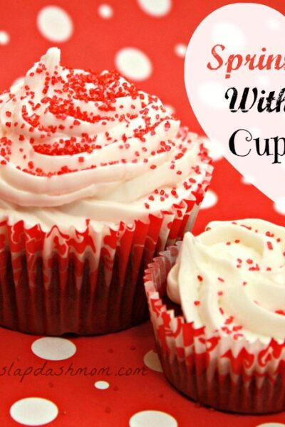 Sprinkle Me With Love Cupcake Recipe