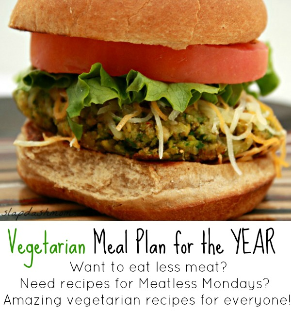 Vegetarian Meal Plan for the Year: January and February