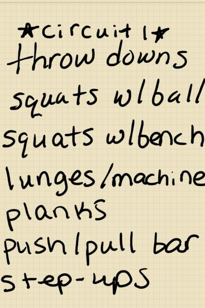 easy circuit workout for weight loss