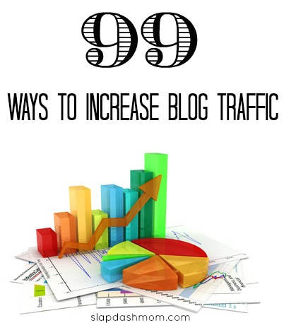 99 Ways to Increase Blog Traffic