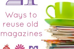 Ways to Reuse Magazines