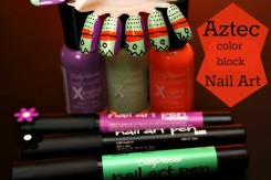 Aztec Inspired Nails #IHeartMyNailArt