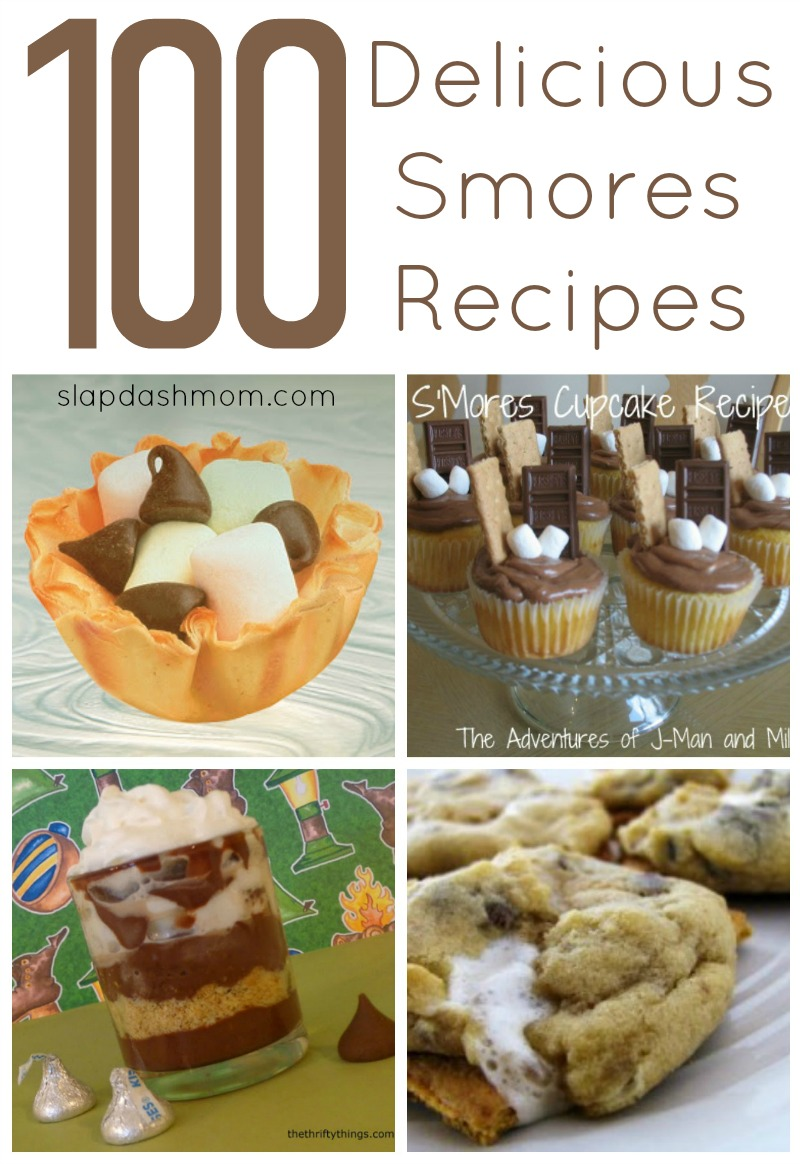 100 Delicious Smores Recipes